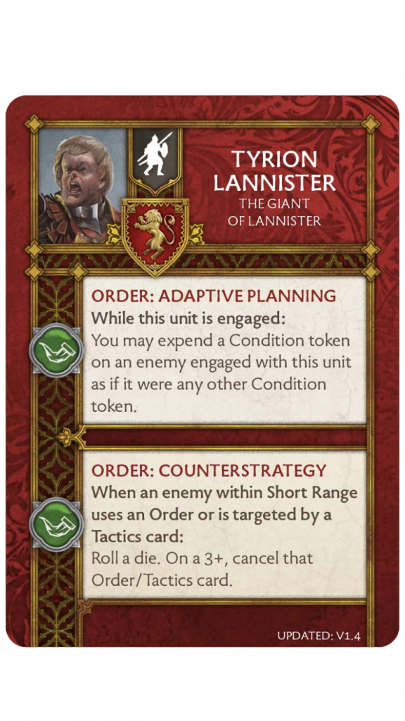 Tyrion Giant of Lannister v1.4