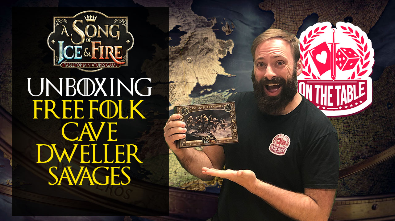 Cave Dweller Savages Unboxing